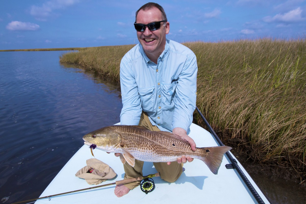 Louisiana bull redfish guide for Louisiana redfish fly fishing