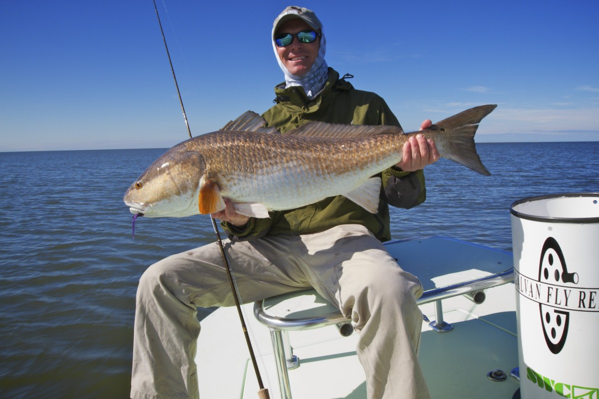 Louisiana inshore fly fishing guide for Louisiana fly fishing