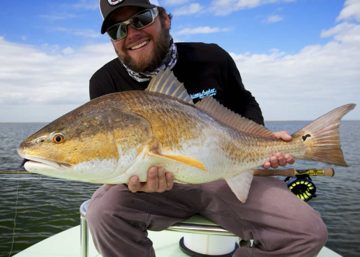 Fly fishing the louisiana marsh with salted flats fly for Louisiana fly fishing
