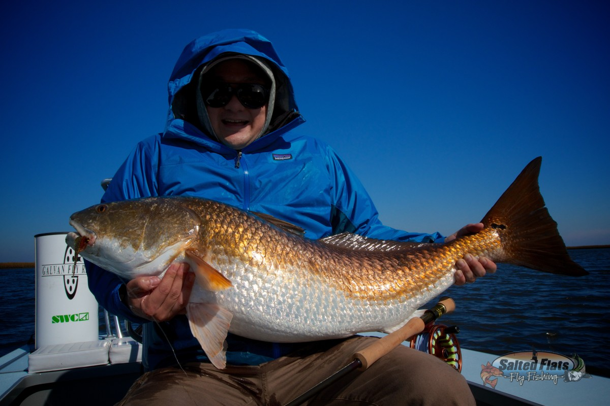 Fly fishing new orleans bull redfish for Fly fishing new orleans