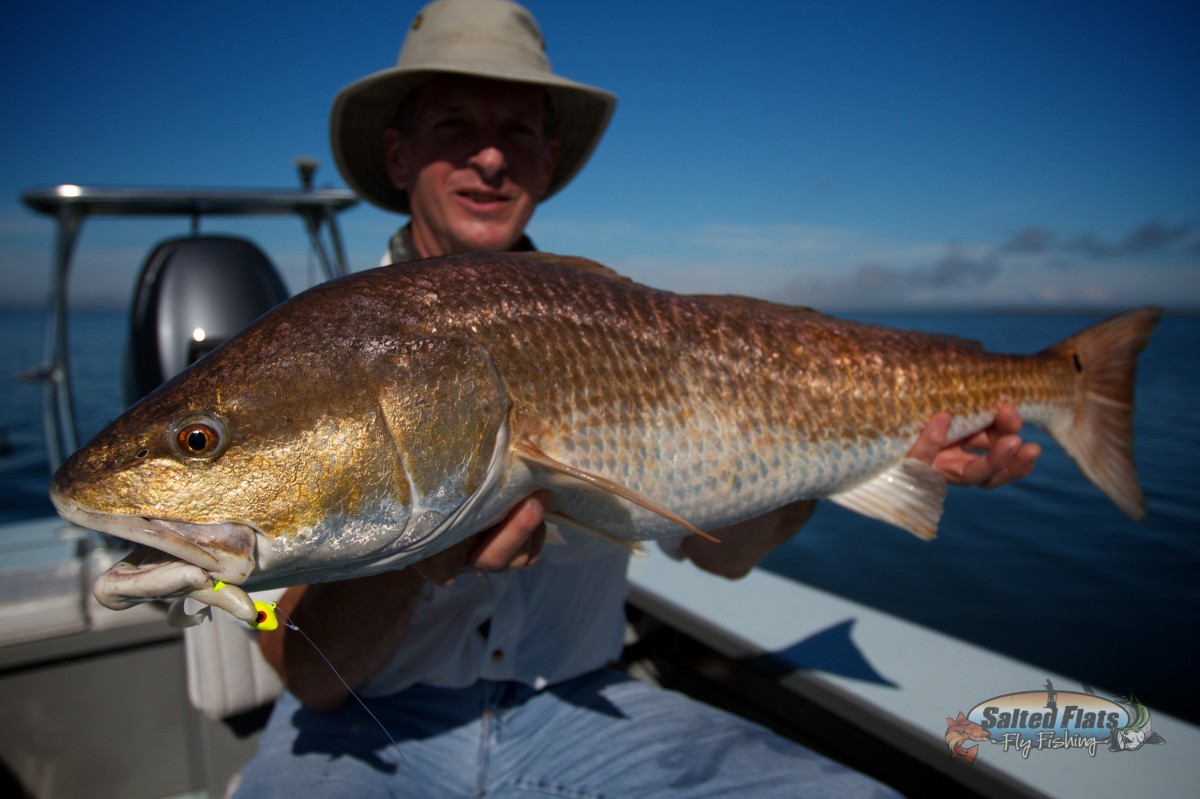 New orleans saltwater fly fishing guide for Redfish fly fishing