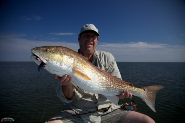 Fly Fishing the Louisiana inshore out of New Orleans.