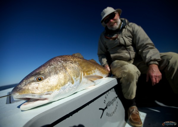 saltwater fly fishing lousiana redfish