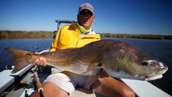 New Orleans Fly Fishing for Redfish