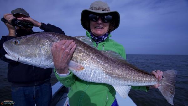 Louisiana Fly Fishing for Redfish