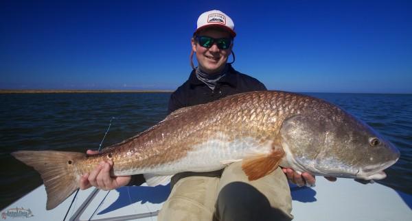 Fly Fishing in Louisiana for Redfish