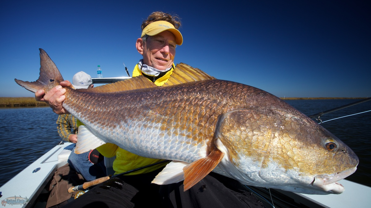 December fly fishing in louisiana for Louisiana redfish fly fishing
