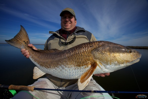 Winter Fly Fishing in Louisiana for Redfish