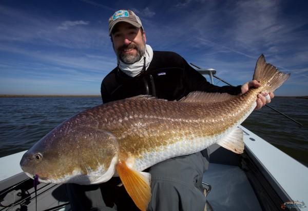 Fly Fishing Redfish in Louisiana