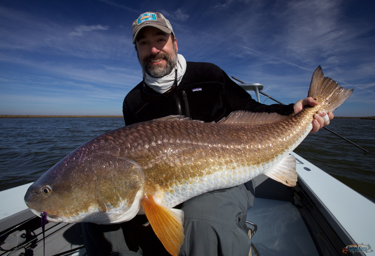 January fly fishing in louisiana for Louisiana redfish fly fishing