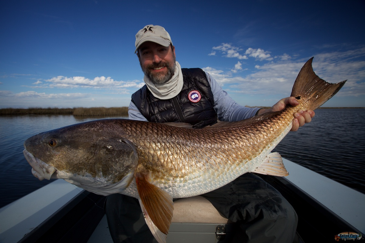 Louisiana Fly Fishing for Redfish