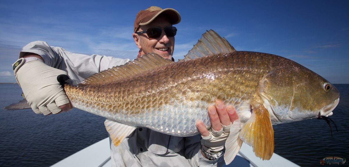 Fly fishing louisiana in december for Louisiana redfish fly fishing