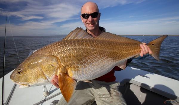 Louisiana Fly Fishing Redfish