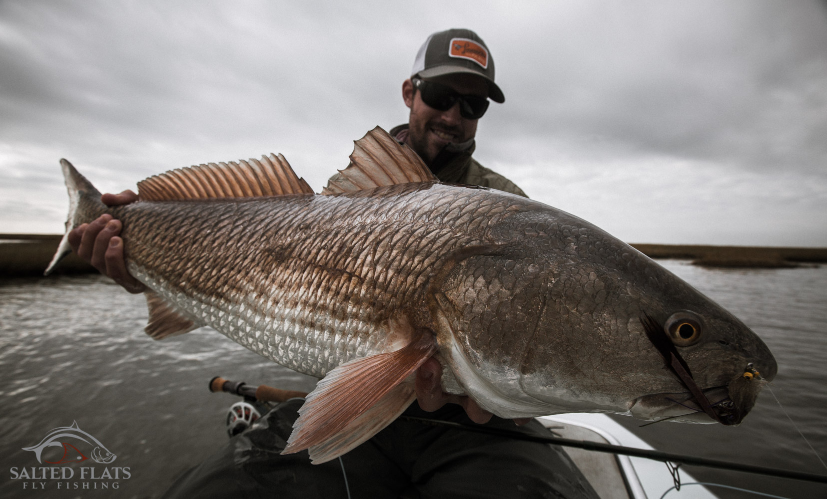 Fly fishing in louisiana salted flats fly fishing for Redfish fly fishing
