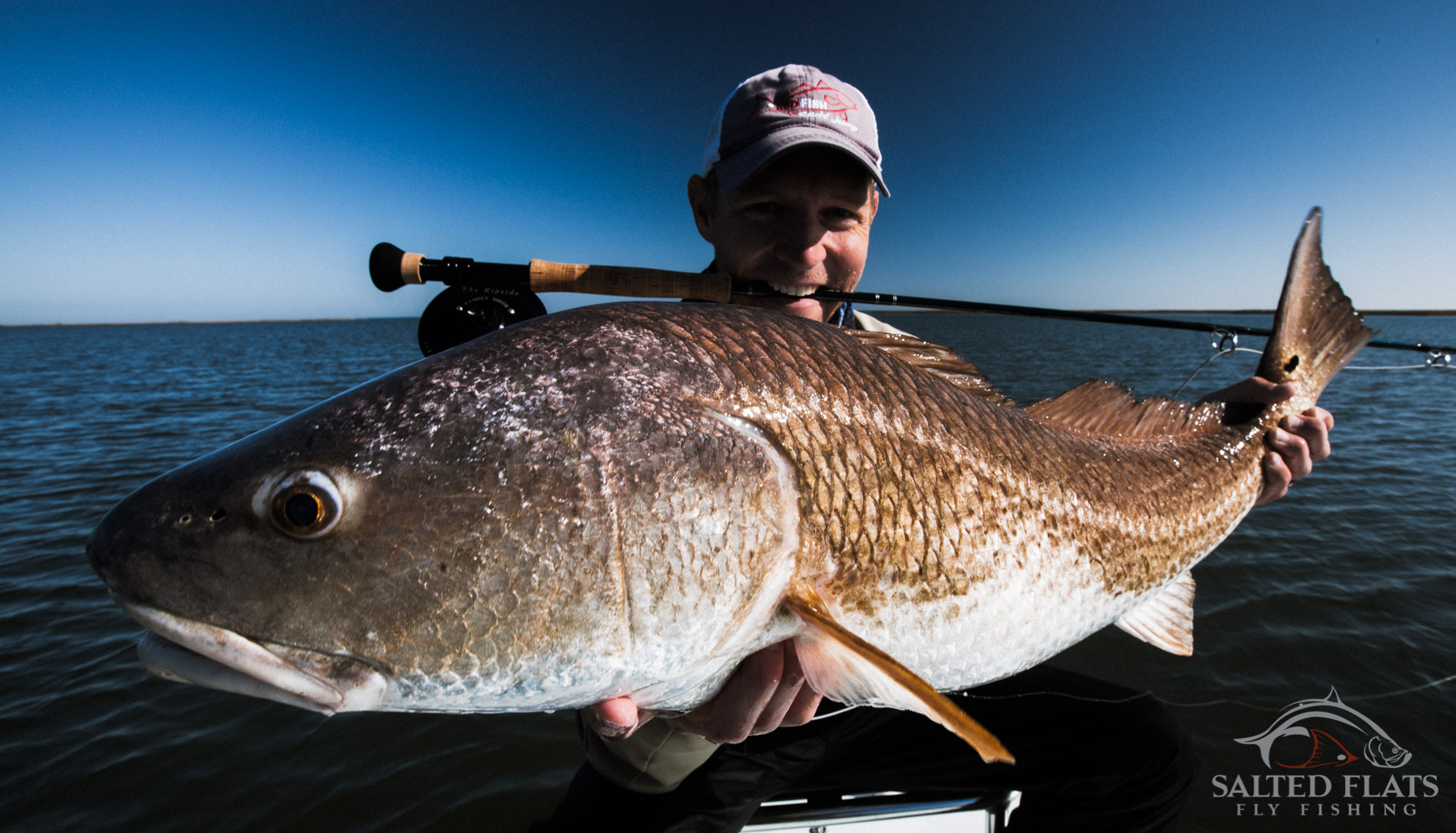 louisiana fly fishing redfish guides salted flats fly