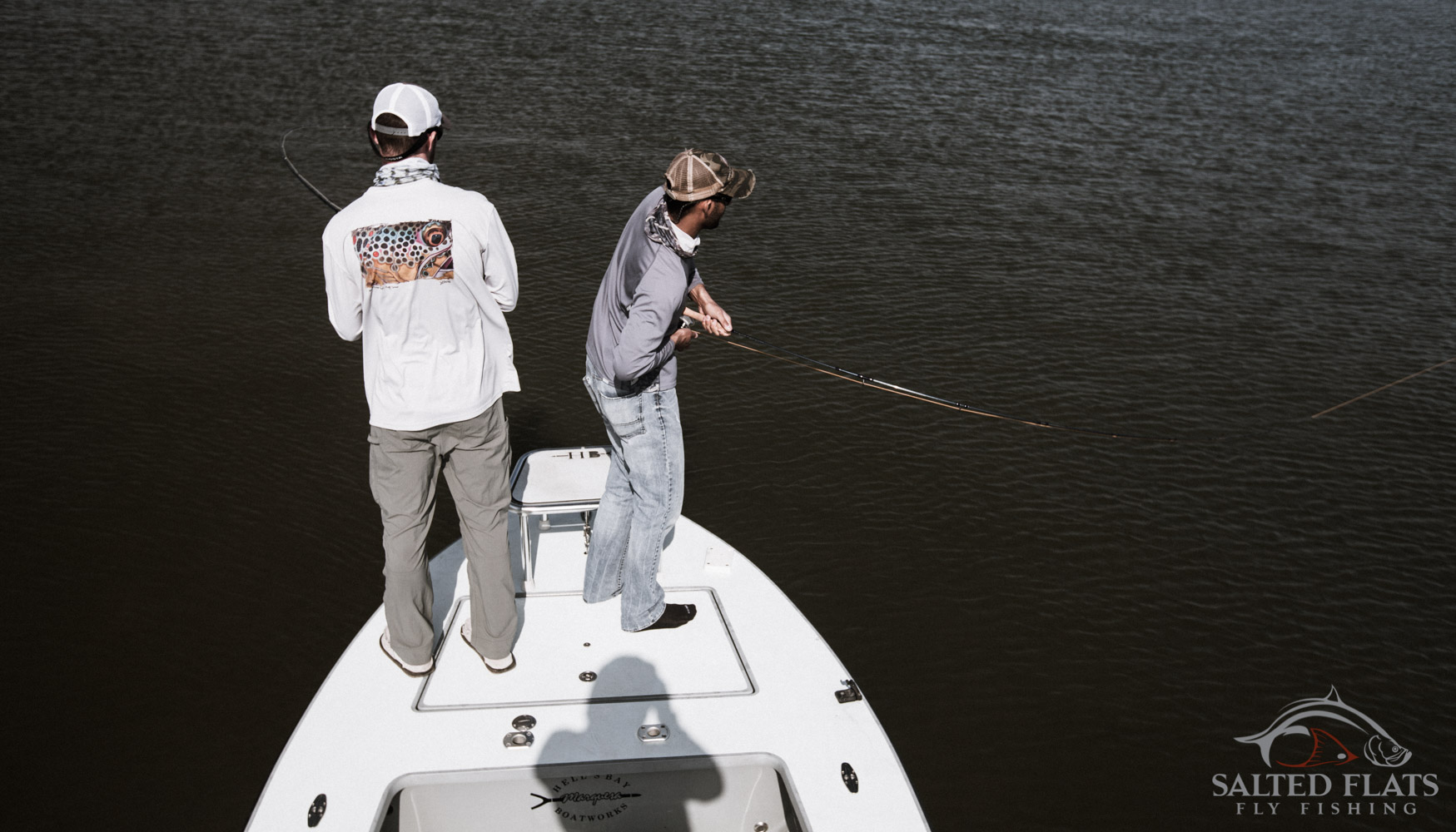 Fly Fishing redfish in Louisiana
