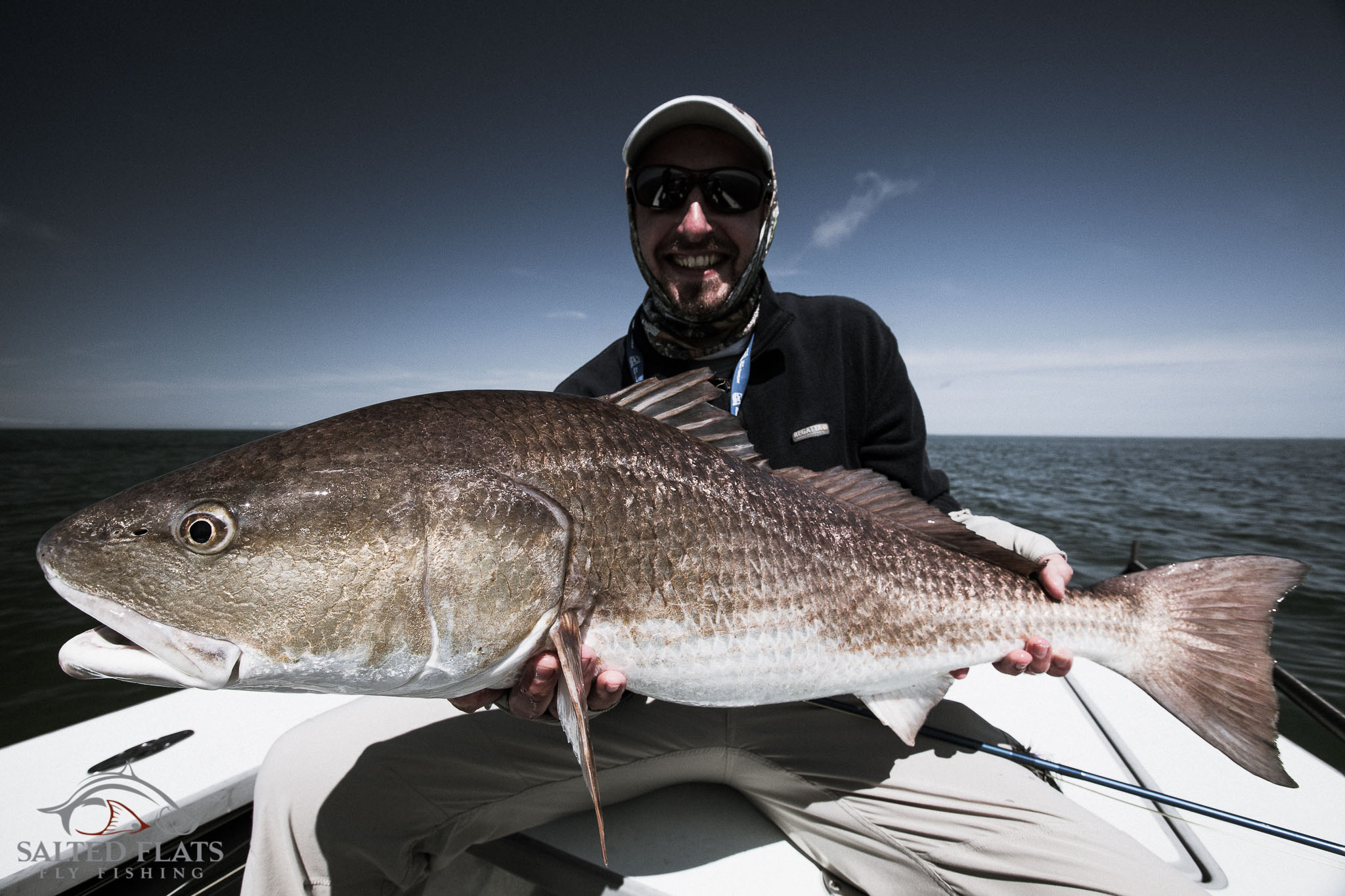 Louisiana fly fishing for fall redfish salted flats fly for Fly fishing for redfish
