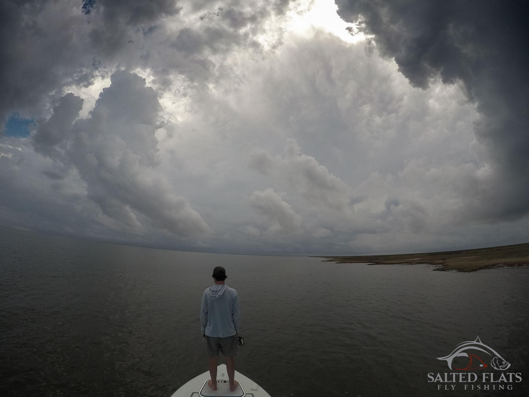 Louisiana Marsh Fly Fishing