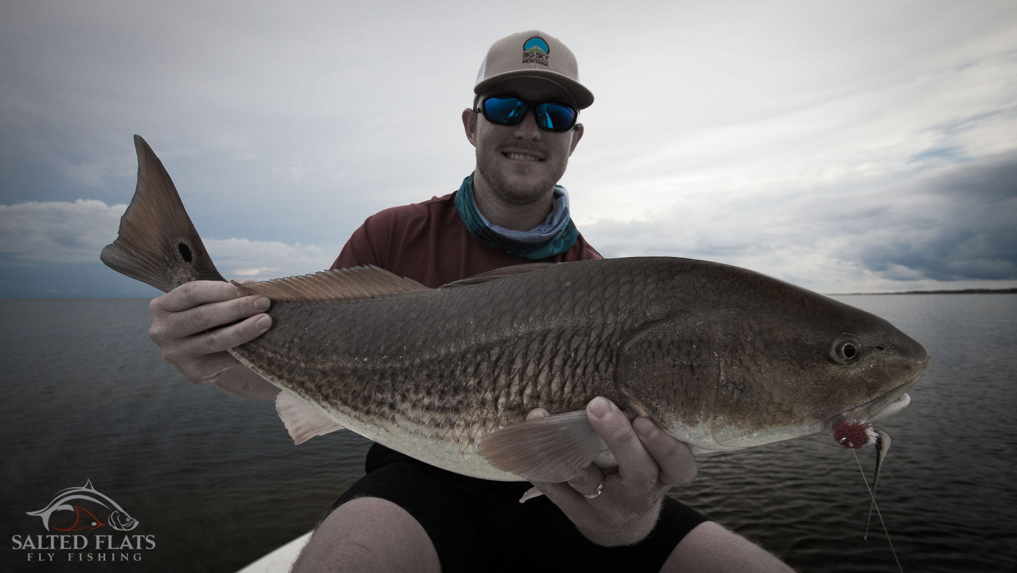 Fly fishing louisiana 39 s october redfish salted flats fly for Louisiana redfish fly fishing