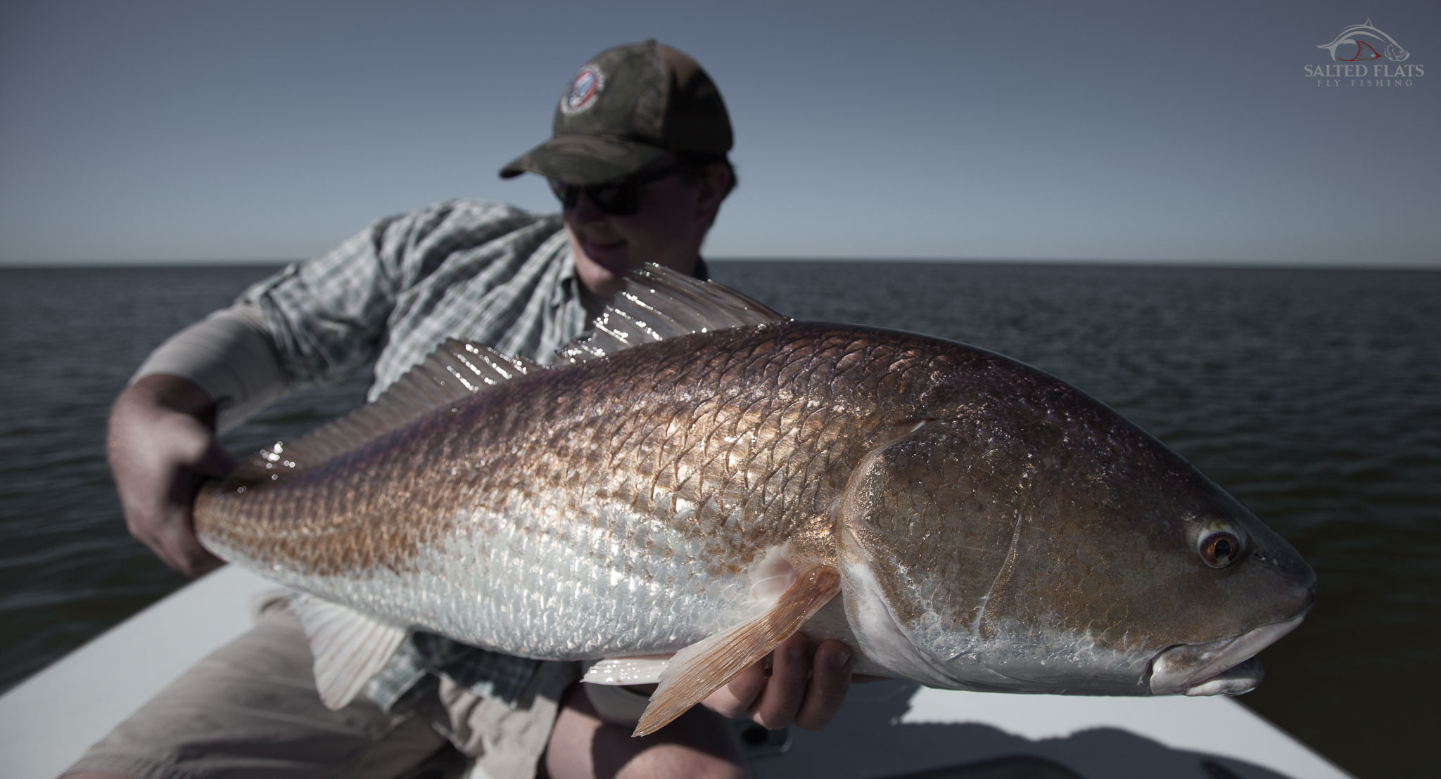 Fly fishing louisiana 39 s october redfish salted flats fly for Fly fishing new orleans