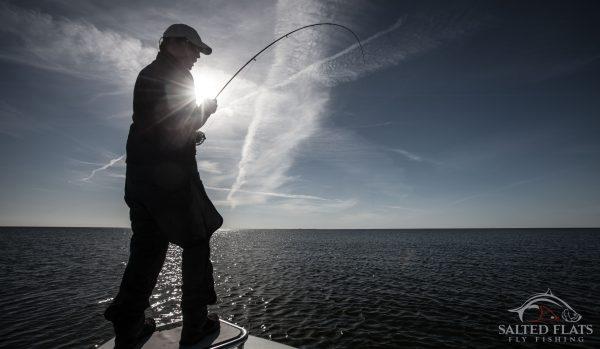 Louisiana Fly Fishing Redfish in March