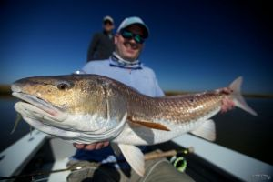 Fly Fishing Louisiana Redfish